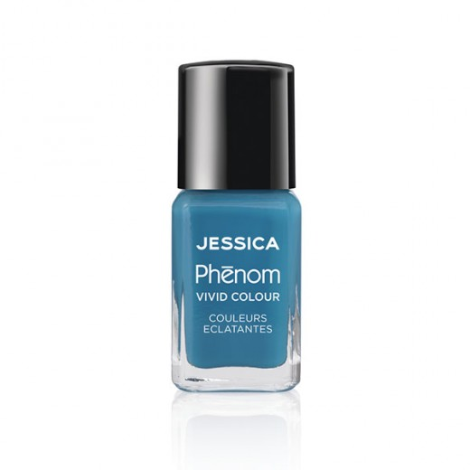 Jessica Vernis à ongles Phenom Fountain blue 15ML, Vernis à ongles couleur