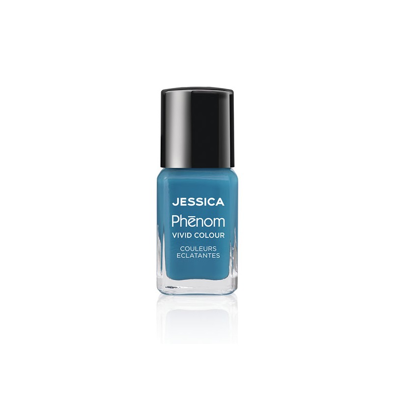 Jessica Vernis à ongles Phenom Fountain blue 15ML, Vernis à ongles couleur