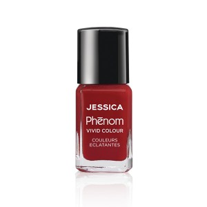 Jessica Vernis à ongles Phenom  Red 15ML, Vernis à ongles couleur