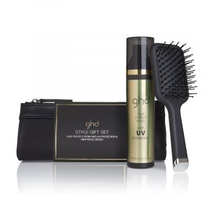 Trousse de coiffage ghd (brosse + spray thermoprotecteur)