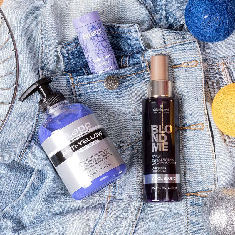 Spray baume éclat couleur BlondMe Tone Enhancing
