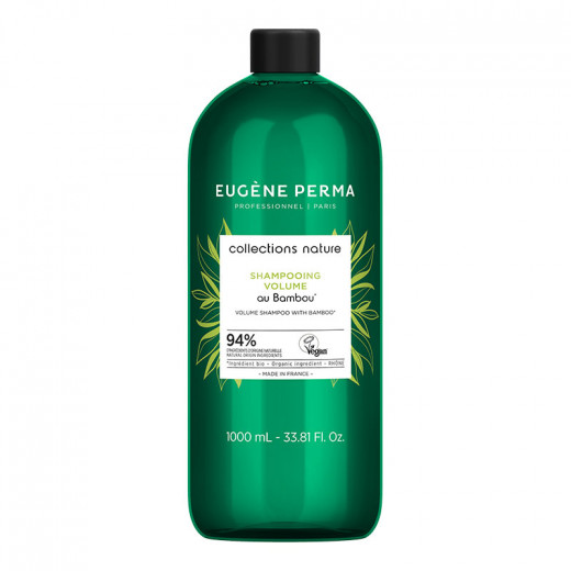 Eugène Perma Shampooing volume au Bambou Collections nature 1000ml, Shampoing naturel