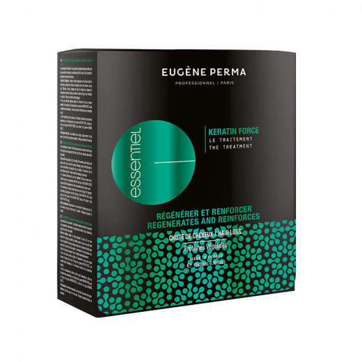 Eugène Perma Traitement anti-chute Keratin Force 12x35ml 42ML, Cure