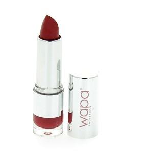 Wapa Rouge à lèvres hydratant brillant Rouge foncé marron 038 4ML, Rouge à lèvres