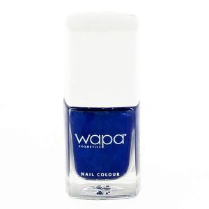 Wapa Vernis à ongles séchage rapide Bleu saphir 038 12ML, Vernis à ongles couleur