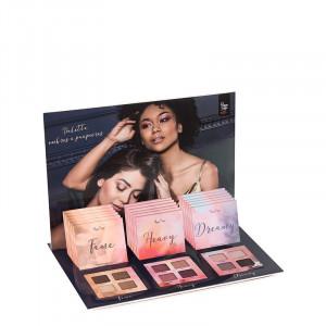 Peggy Sage Présentoir 18 palettes ombres à paupières Fauve - Heavy - Dreamy, Présentoir produits