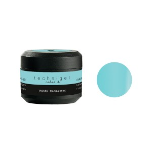Peggy Sage Gel de couleur UV & LED Technigel Tropical mint, Gel couleur