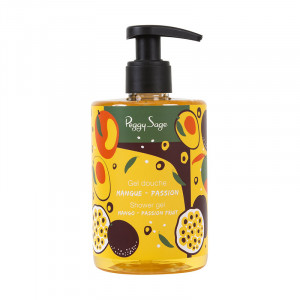 Peggy Sage Gel douche Mangue-Passion 300ml, Gel de douche