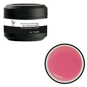 Peggy Sage Gel UV de construction dur pour ongles Rose 15g, Gel construction