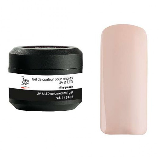 Peggy Sage Gel de couleur UV & LED Technigel Color It Silky peach 5g, Gel couleur