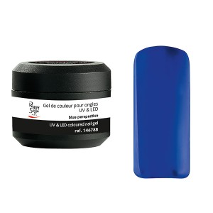 Peggy Sage Gel de couleur UV & LED Technigel Color It  Blue perspect, Gel couleur