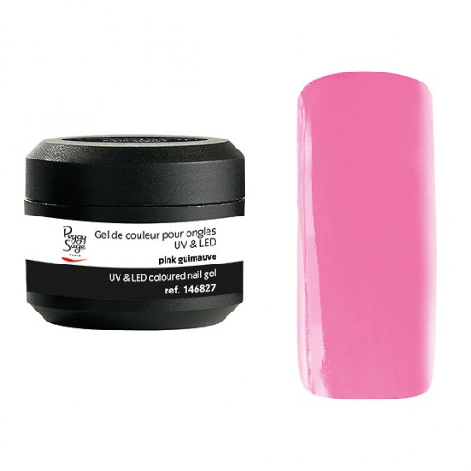Peggy Sage Gel de couleur UV & LED Technigel Color It Pink guimauve, Gel couleur