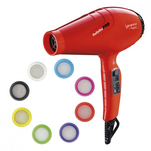 Séchoir luminoso orange ionic  2100w babyliss pro