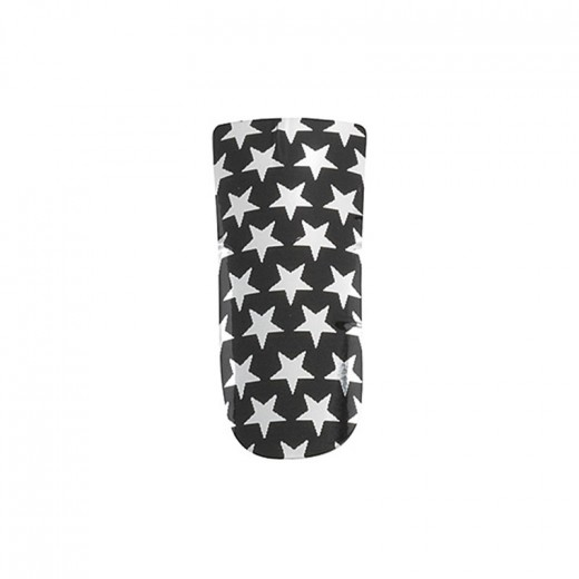 Décors ongles nail foils black and silver peggy sage
