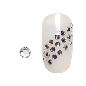 Strass pour ongles x20 Argent