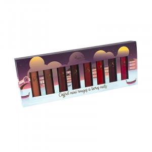 Peggy Sage Coffret de 8 mini rouges à lèvres mats 104g, Rouge à lèvres