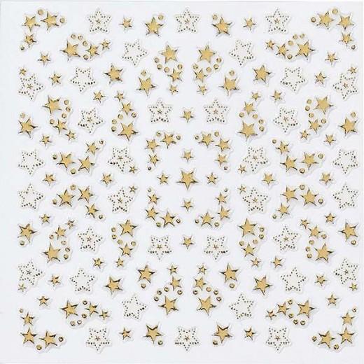 Peggy Sage Décors adhésifs pour ongles Or, Sticker décoratif