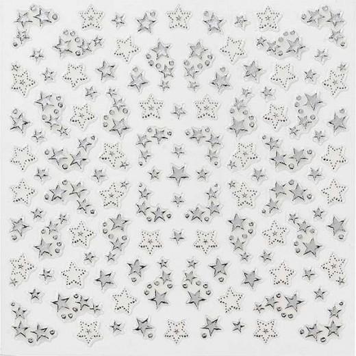 Peggy Sage Décors adhésifs pour ongles Multi, Sticker décoratif