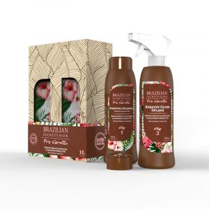 Kit lissage brésilien Splash Pro Keratin (2x500ml)