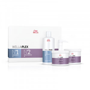 Wella Kit WellaPlex n°1 et 2 (3x500ml) 1500ML, Additif