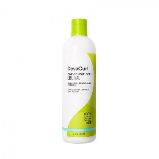 DevaCurl One Condition® Original Conditionneur quotidien boucles 355ML, Après-shampoing avec rinçage