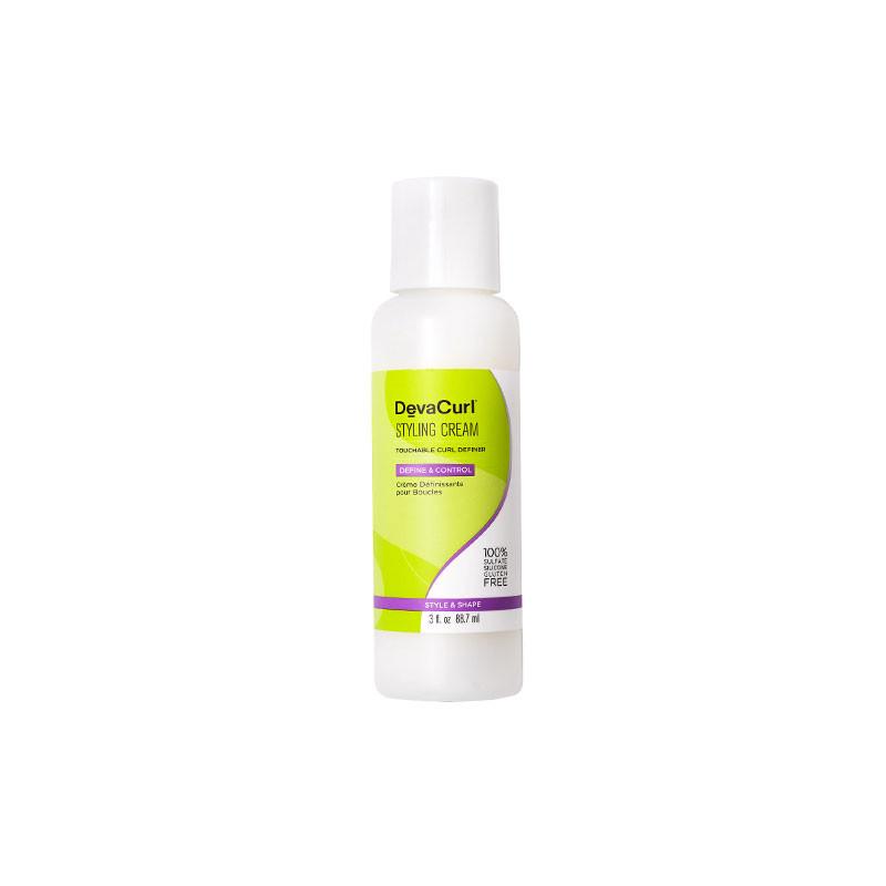 DevaCurl Styling Cream Crème définissante boucles 88ML, Crème cheveux