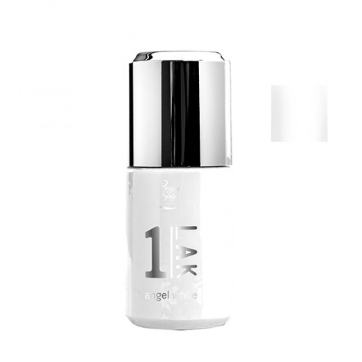 Peggy Sage Vernis semi-permanent 1-Lak Angel white 10ML, Vernis semi-permanent couleur