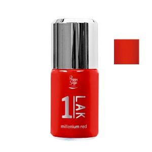 Peggy Sage Vernis semi-permanent 1-Lak Millenium red 10ML, Vernis semi-permanent couleur