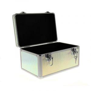 7eme élément Mallette professionnelle Holographique 33x21.5x18.5cm, Mallette maquillage