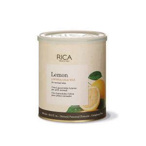 Rica Cire liposoluble au Citron 800ml, Pot de cire