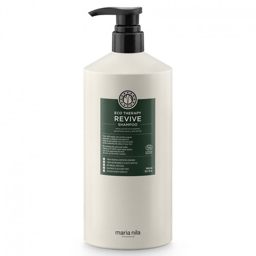 Maria Nila Shampooing micellaire détox Eco therapy revive 1050ml, Shampoing naturel