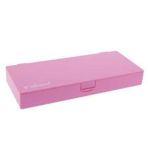 7eme élément Boîte de rangement accessoires coiffure Rose, Accessoires coiffure