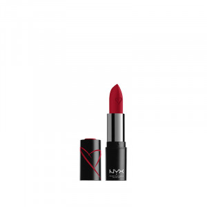 NYX Professional Makeup Rouge à lèvres Shout loud satin Red haute 3.4g, Rouge à lèvres