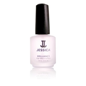 Jessica Top coat finish brillance 14ML, Top & base coat