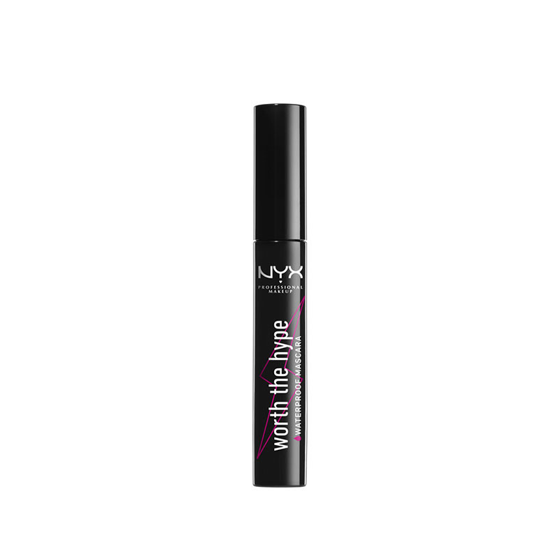 NYX Professional Makeup Mascara Worth the hype Waterproof Noir, Mascara
