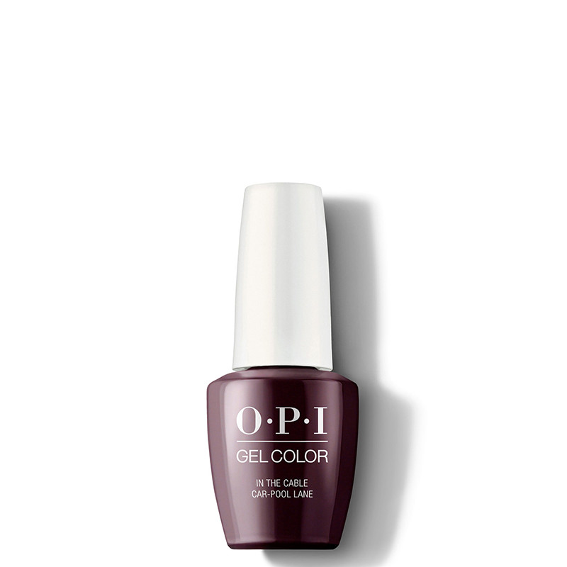 OPI Vernis semi-permanent GelColor In the Cable Car-pool lane, Vernis semi-permanent couleur