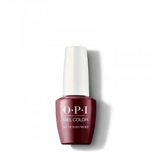OPI Vernis semi-permanent GelColor Got the Blues for Red, Vernis semi-permanent couleur