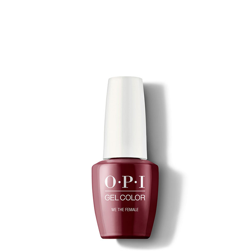OPI Vernis semi-permanent GelColor We the Female, Vernis semi-permanent couleur