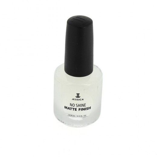 Jessica Top coat Mat 14ML, Top & base coat