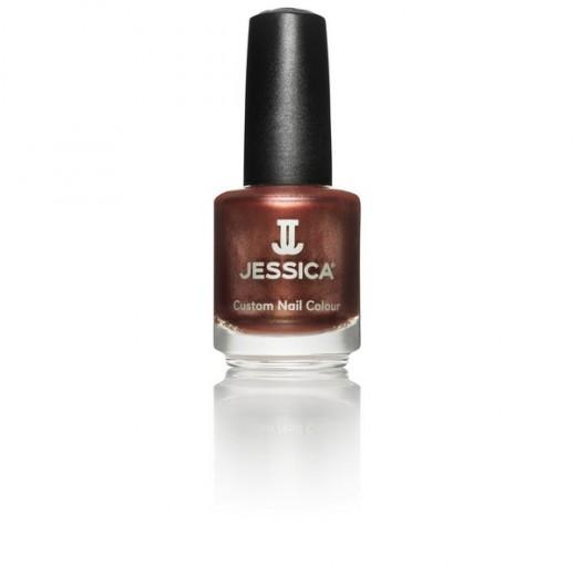 Jessica Vernis à ongles Hot fudge 14ML, Vernis à ongles couleur