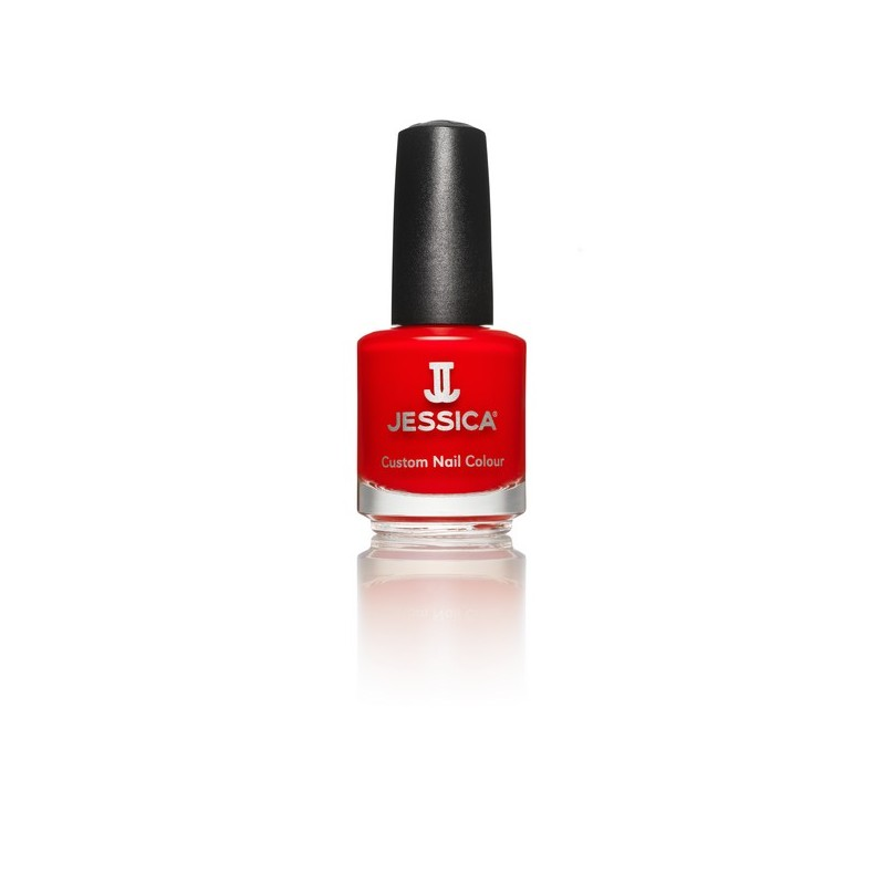 Jessica Vernis à ongles Atomic red 14ML, Vernis à ongles couleur