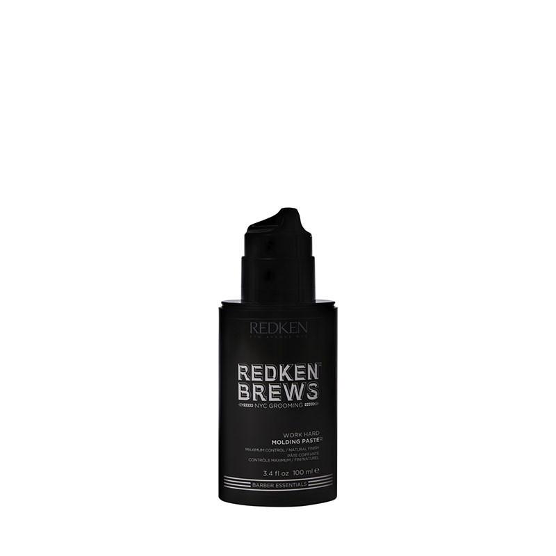 Redken Pâte coiffante Work Hard Redken Brews 100ml, Cheveux