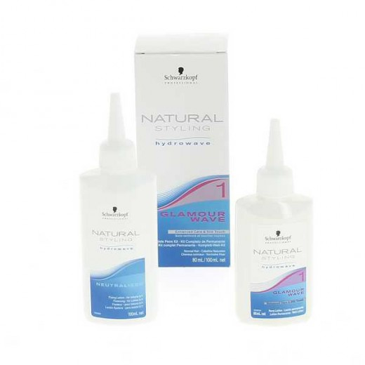 Kit permanente n°1 natural styling glamour schwarzkopf