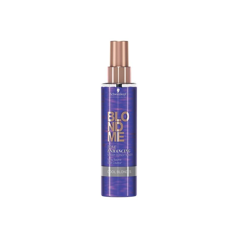 Schwarzkopf Spray baume éclat couleur BlondMe Tone Enhancing 150ML, Spray cheveux
