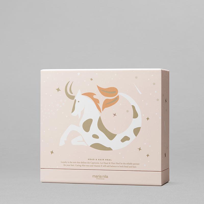 Maria Nila Holiday box Head & Hair Heal - Shampoing Conditioner & Huile 680ML, Coffret