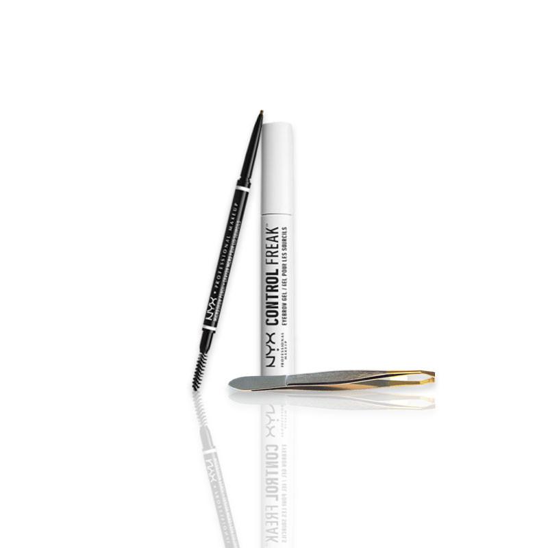 NYX Professional Makeup Kit pour les sourcils, Teint