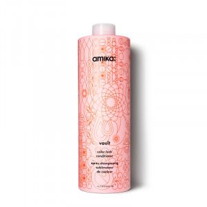 Amika Après-shampooing cheveux colorés Vault 1000ML, Après-shampoing avec rinçage