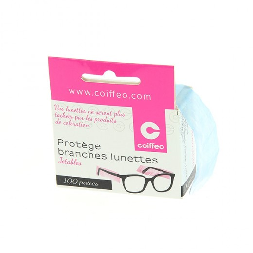 Coiffeo Protèges lunettes jetables x100, Protection