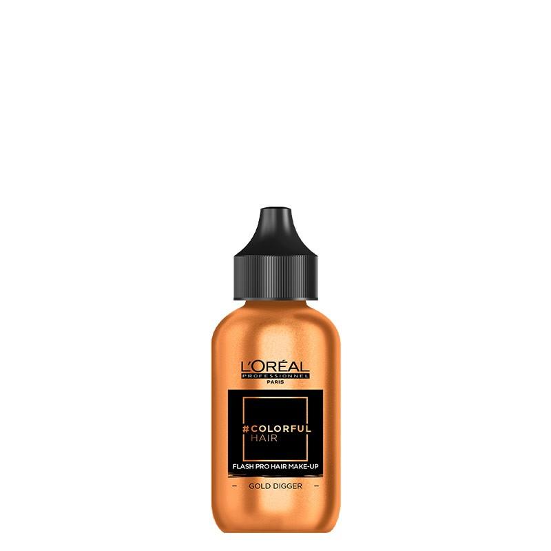 L'Oréal Professionnel Coloration temporaire Colorfulhair Flash Pro Hair Make-up 60ML, Coloration temporaire
