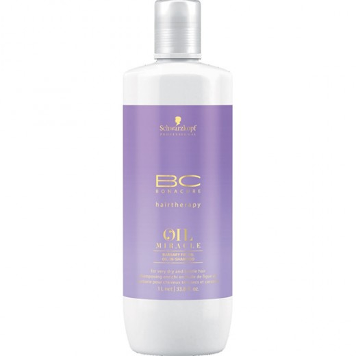 Schwarzkopf Shampooing Barbary Oil Miracle 1000ML, Cosmétique